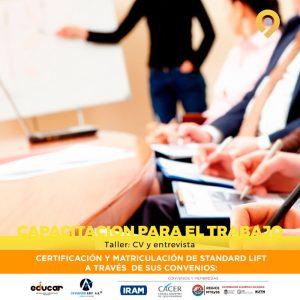 Curso Taller de Capacitación para el Trabajo: CV y Entrevista - A distancia - Instituto Avanzar