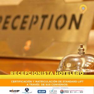 Curso Recepcionista Hotelero - Presencial - Instituto Avanzar
