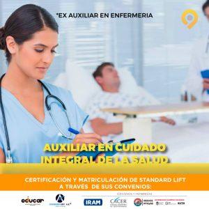 Curso Auxiliar en Cuidado Integral de la Salud - Presencial - Instituto Avanzar
