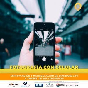 Curso Fotografía con Celular - Presencial - Instituto Avanzar
