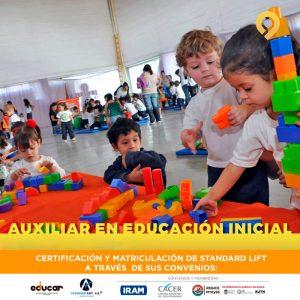 Curso Auxiliar en Educación Inicial - Presencial - Instituto Avanzar