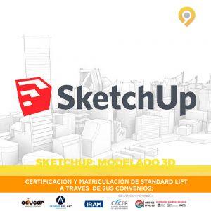 Curso SketchUp Modelado 3D - A distancia - Instituto Avanzar